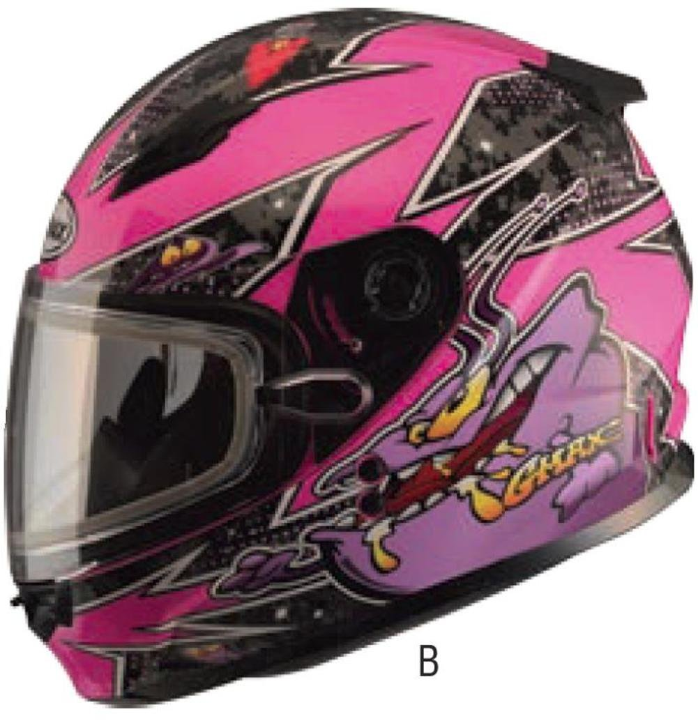 GMAX Unisex-Adult Full-face Style G2497592 TC-22 Gm49Y Snow Helmet Pink//Purple youth l Large G2497592TC-22