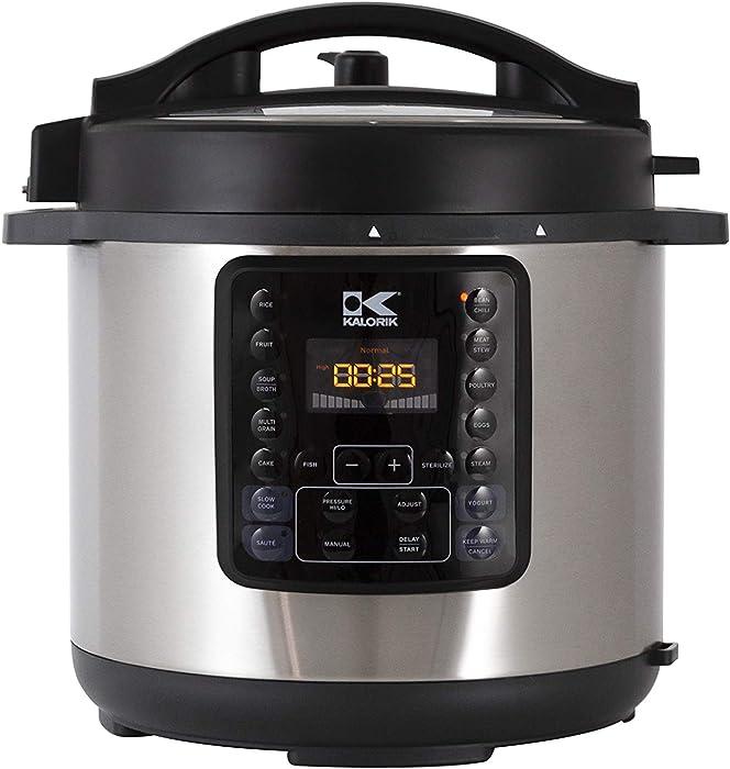 Top 10 Kalorik 4 Qt Pressure Cooker