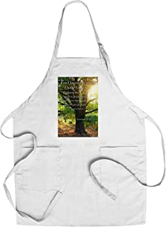 product image for Jeremiah 29:11 - Inspirational (Cotton/Polyester Chef's Apron)