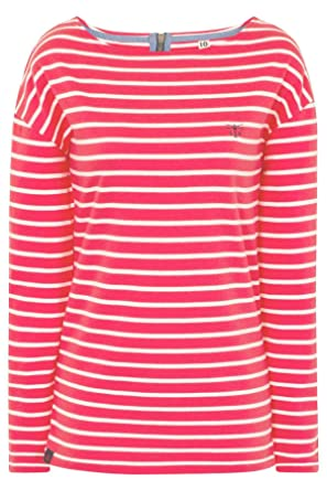 2dbb3f07e16 LightHouse Women s Dune Striped Jersey Top  Amazon.co.uk  Clothing