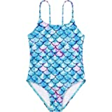 American Trends Girls One Piece Swimsuit Beach Swimsuits for Kids Girls' Athletic Swimwear Toddler Bathing Suits