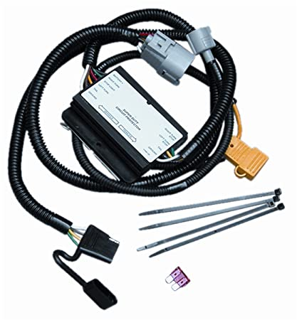Amazon Com Vehicle To Trailer Wiring Harness Connector For 01 02
