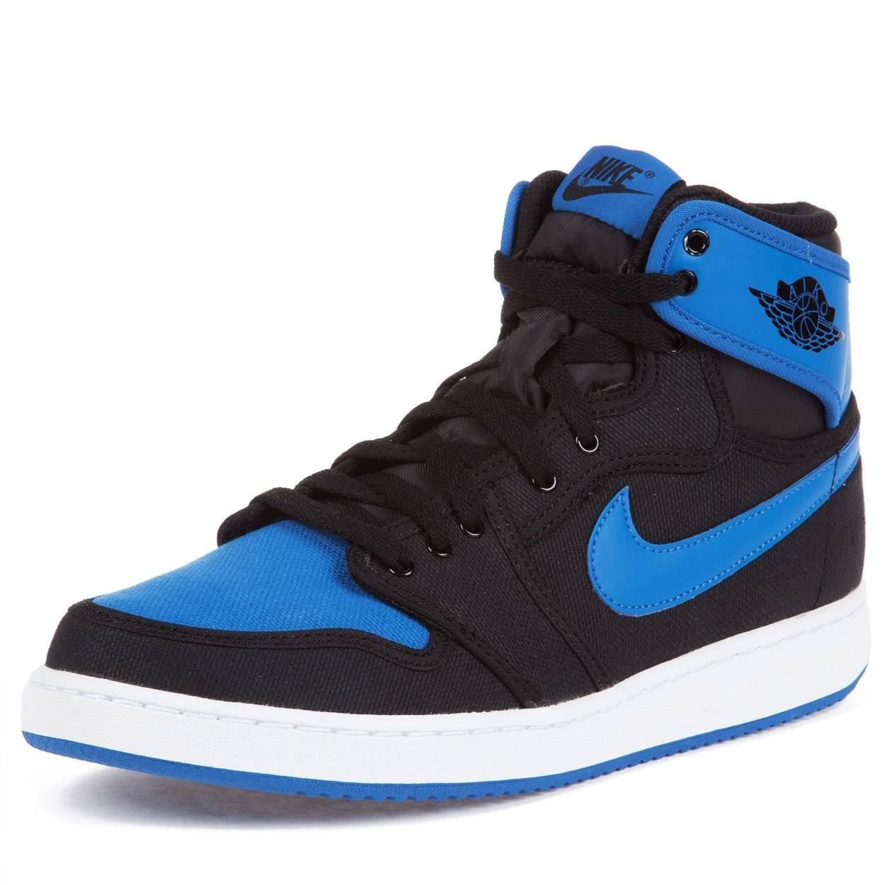40a940131573c1 Galleon - Nike Air Jordan 1 KO High OG Mens Basketball Shoes 638471-007  Black Black-Sport Blue 11 M US