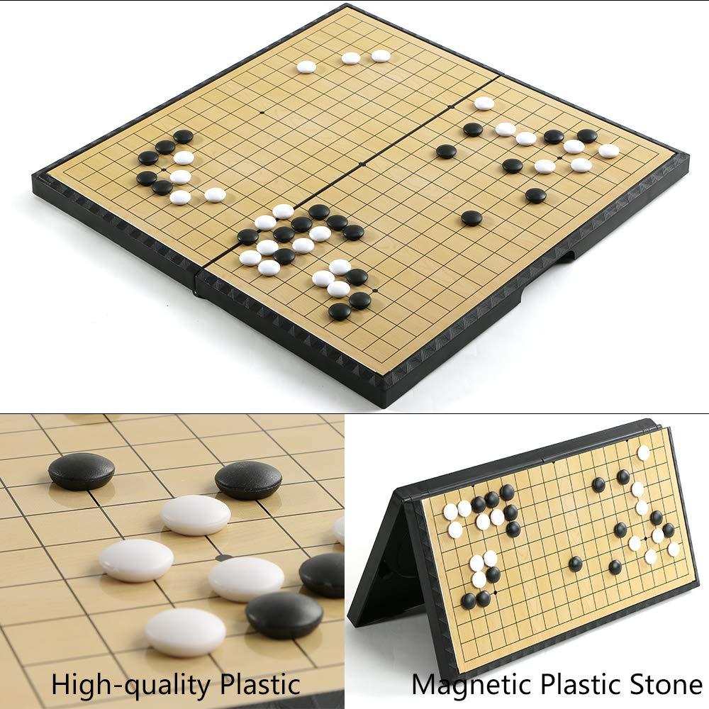 Go Game Set Foldable 37cm x 37cm /14.5\