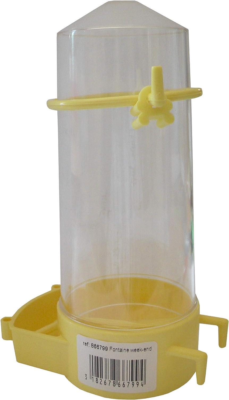 Aime - Fuente de agua para pájaros, para todo tipo de jaula para pájaros