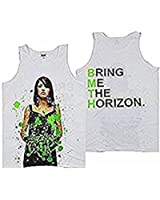 BRING ME THE HORIZON - GREEN GUTS - OFFICIAL MENS VEST (T SHIRT)
