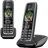 Gigaset C530 Duo Téléphone sans Fil 2 Combinés Noir