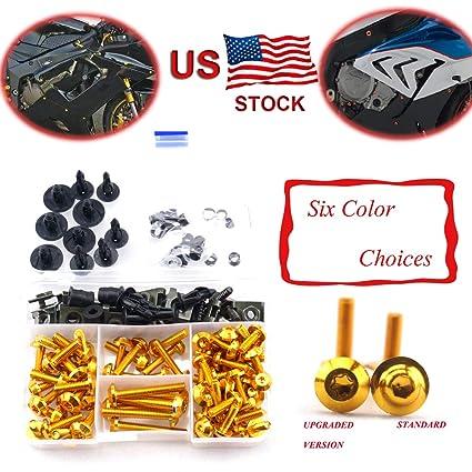 Complete Alloy Motorcycle Body Fairing Bolt Kit Body Screws For Honda CBR1000RR CBR 1000 RR CBR 1000RR 2008-2011