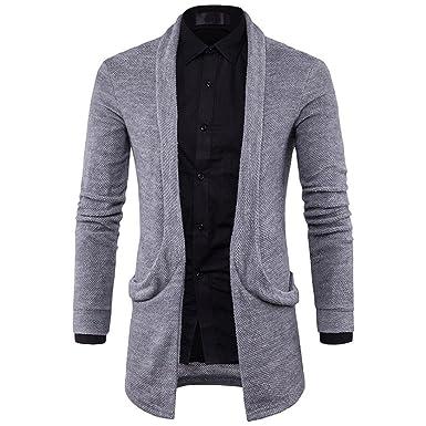 RETUROM Ropa de Abrigo para Hombre, Moda Hombre Nuevo suéter ...