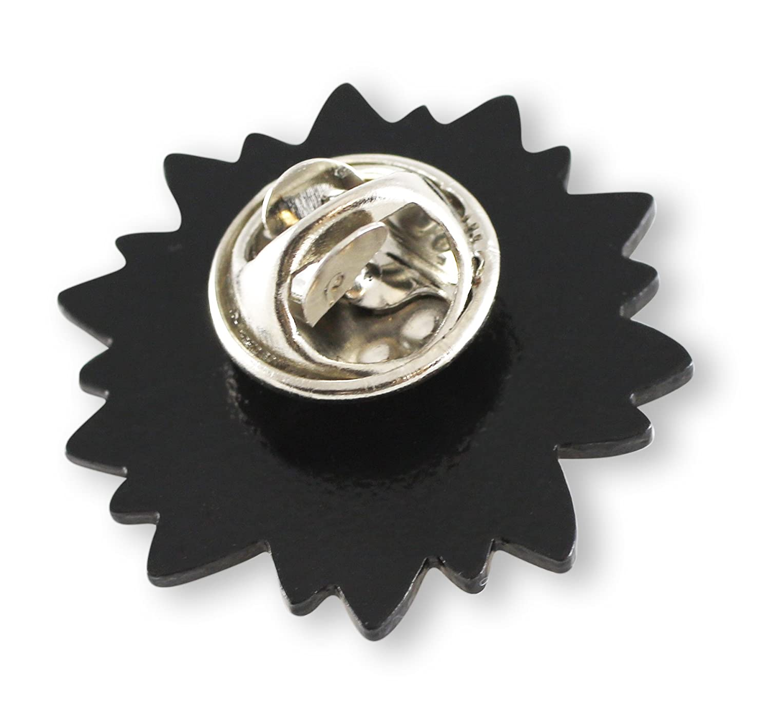 Forge Yellow Sunflower Helianthus Lapel Pin