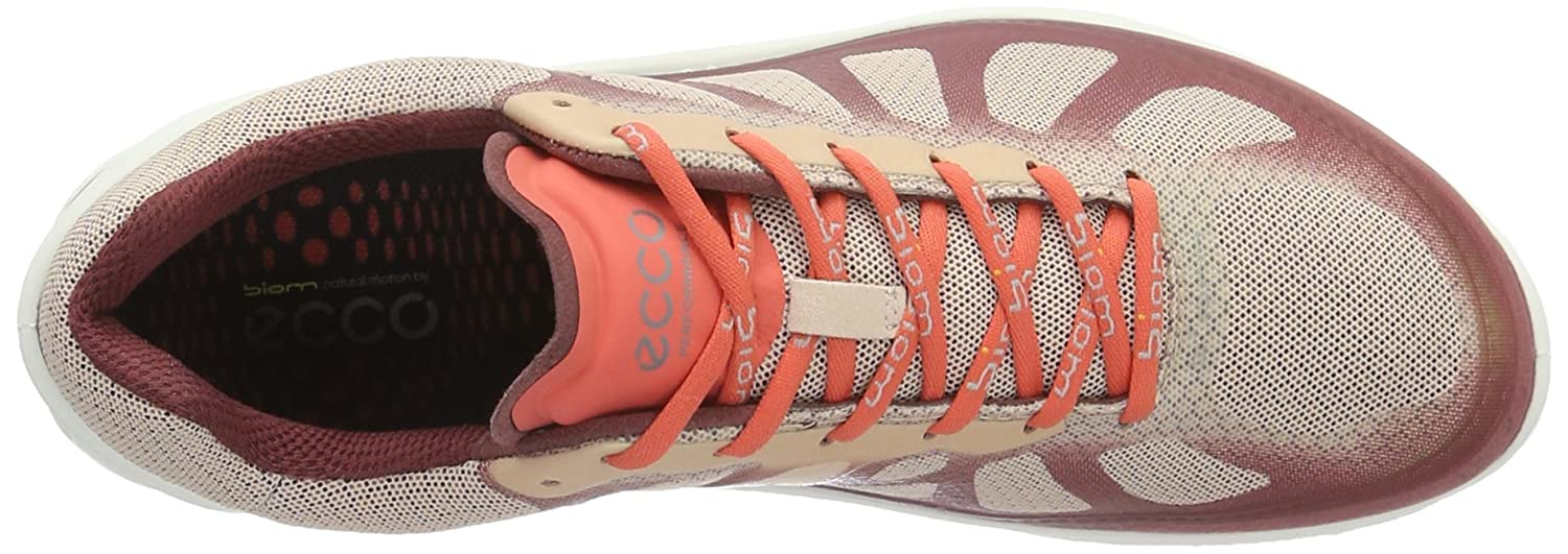 ECCO Cross Women's Biom Fjuel Racer Cross ECCO Trainer B01EKLQVQQ 39 EU/8-8.5 M US|Petal Trim/Rose Dust/Coral Blush c8f0fc
