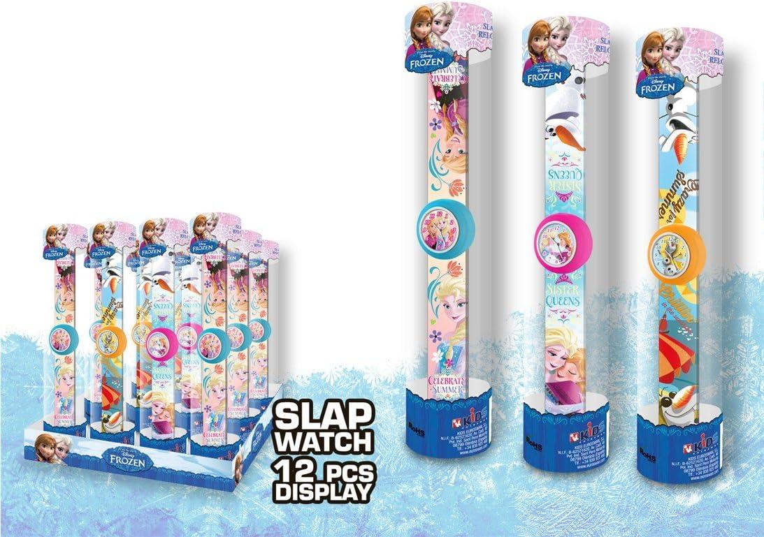 Kids Euroswan - Frozen WD16143 Reloj pulsera slap - Random Model: Amazon.es: Juguetes y juegos