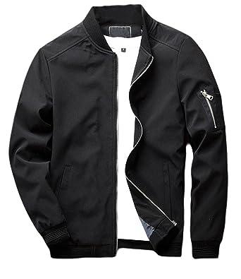 sandbank Men s Slim Fit Lightweight Softshell Flight Bomber Jacket Coat 6bd65863338a