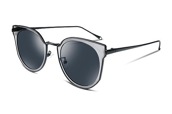 FEISEDY Damen Sonnenbrille, rot, UB2255-XRE-FF