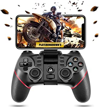 Amazon Com Astarry Wireless Bluetooth Android Game Controller Mobile Gaming Controller Gamepad Joystick Compatible For Ios Android Phone Pc Windows Smart Tv Tv Box Ps3 Does Not Support Ios 13 4 Computers Accessories