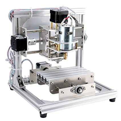 DIY CNC Router Kits 1310 GRBL Control 3 Axis Plastic Acrylic PCB PVC Wood  Carving Milling Engraving Machine, XYZ Working Area 130x100x40mm CNC Router