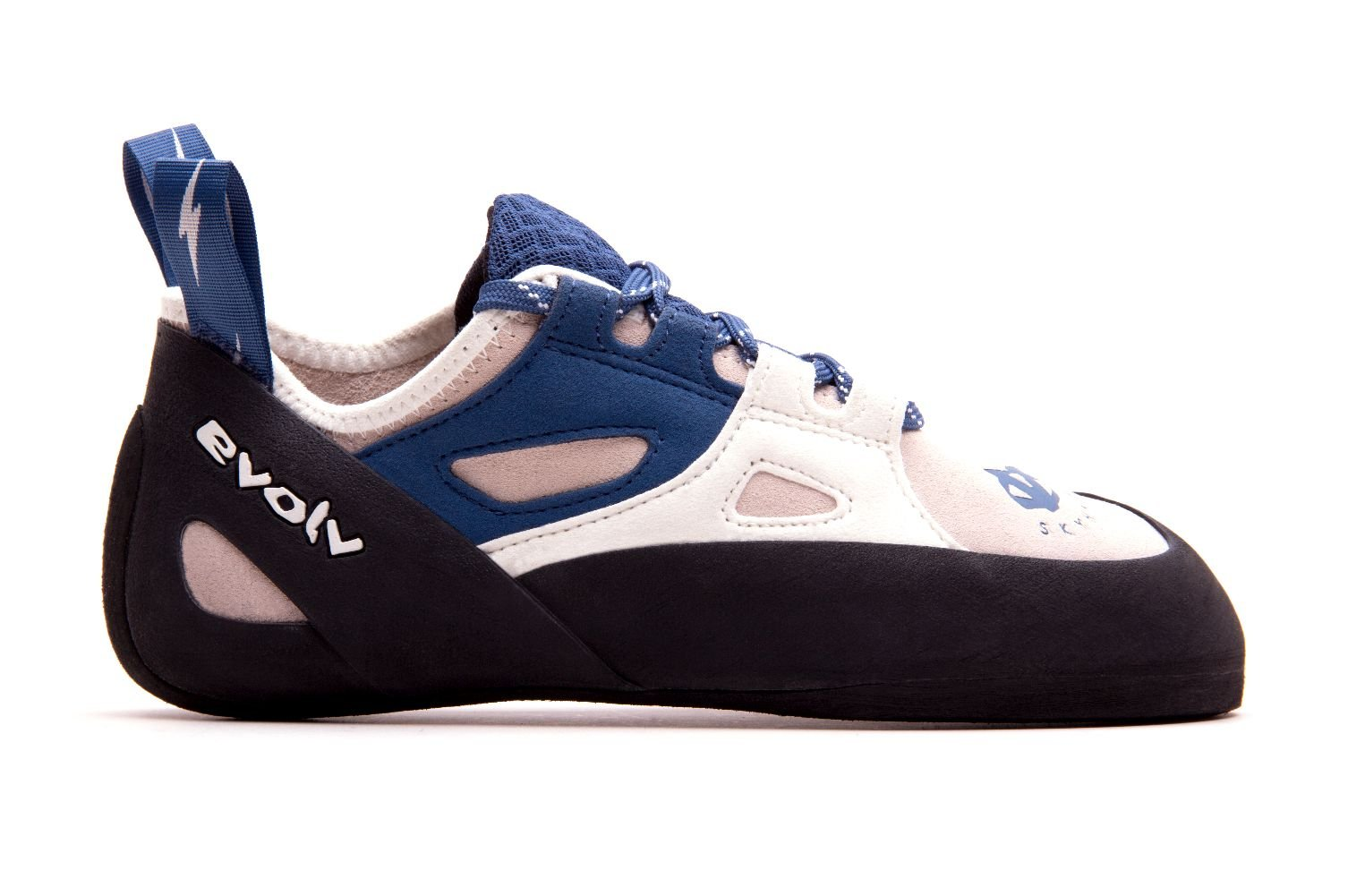 Evolv Skyhawk Climbing Shoe - Women's White/Blue 6 by Evolv