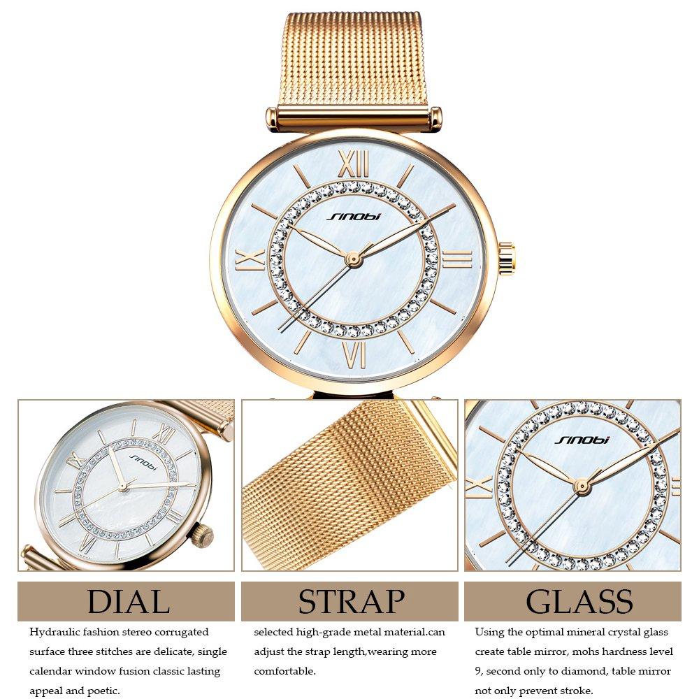 Amazon.com: 2017 Sheli Watches Women Brand Luxury Quartz Watch Fashion Relojes Mujer: Watches