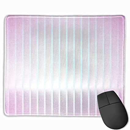 Amazon com : Mouse padpink Modern, Vertical Wave Like Lines