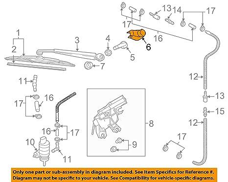 Repuesto trasera limpiaparabrisas trasero brazo tuerca tapa para A3 A4 B6 B7 RS3 RS4 8e9955205 C