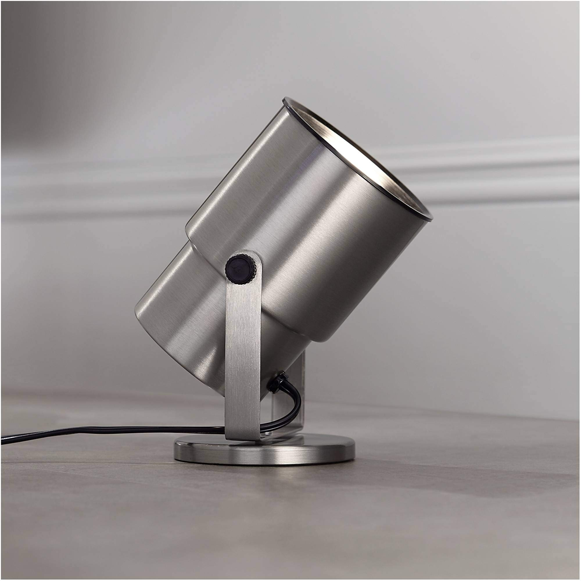 Pro Track Brushed Nickel 8'' High Accent Uplight - Pro Track by Pro Track (Image #5)