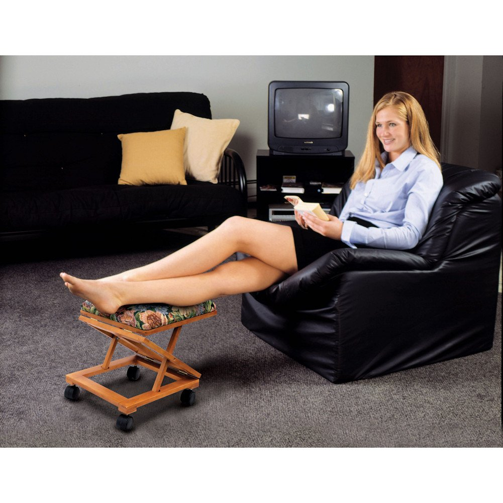 Footrest Adjustable Fold-A-Way Tapestry E.P.C 4363