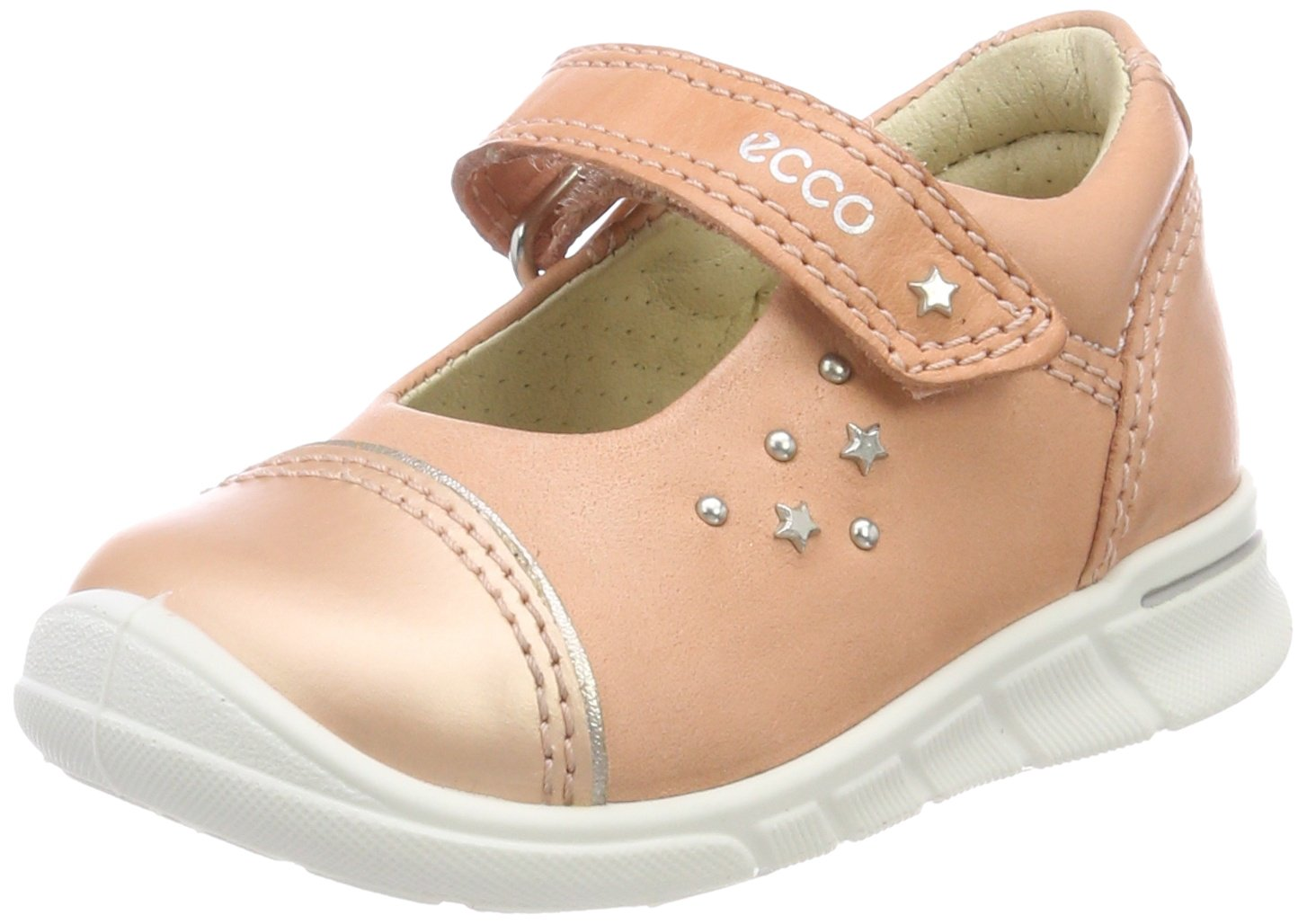 Ecco First, Chaussures Bébé Marche Fille 754111