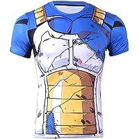 CoolChange Maglietta Cosplay di Vegeta | Costume per i Fan di Dragon Ball | Talla: S