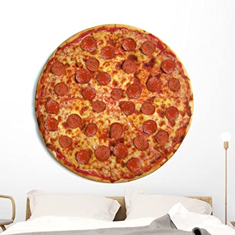 Amazon.com: Wallmonkeys entero Pizza Pie Pared calcomanía ...