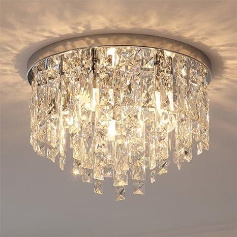 Lámpara de techo Cristal,Nclon Downlight Lámparas de araña ...