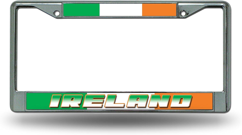 National Soccer Team Standard Chrome License Plate Frame
