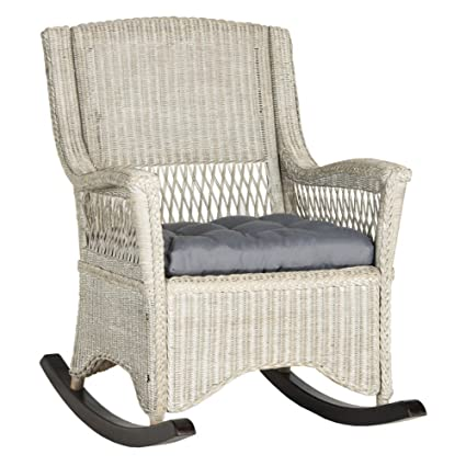 Safavieh Home Collection Aria Brown Rocking Chair