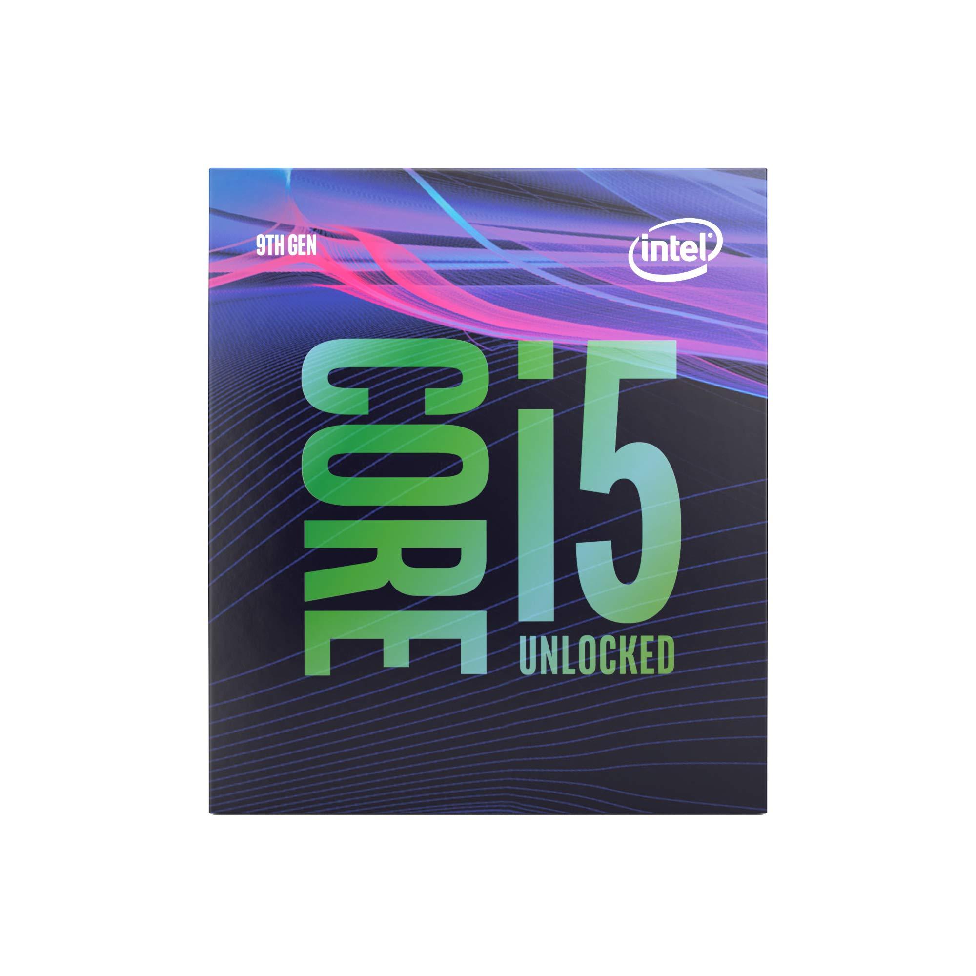 Intel Core i5-9600K Desktop Processor 6 Cores up to 4.6 GHz Turbo Unlocked LGA1151 300 Series 95W by Intel (Image #1)