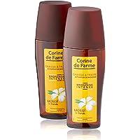 Corine de Farme Spray met melkvet, verfijnt de bruining, hydrateert en kalmeert de huid, 2 stuks