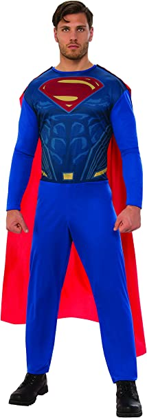 DC Comics - Disfraz de Superman para hombre, Talla XL adulto ...