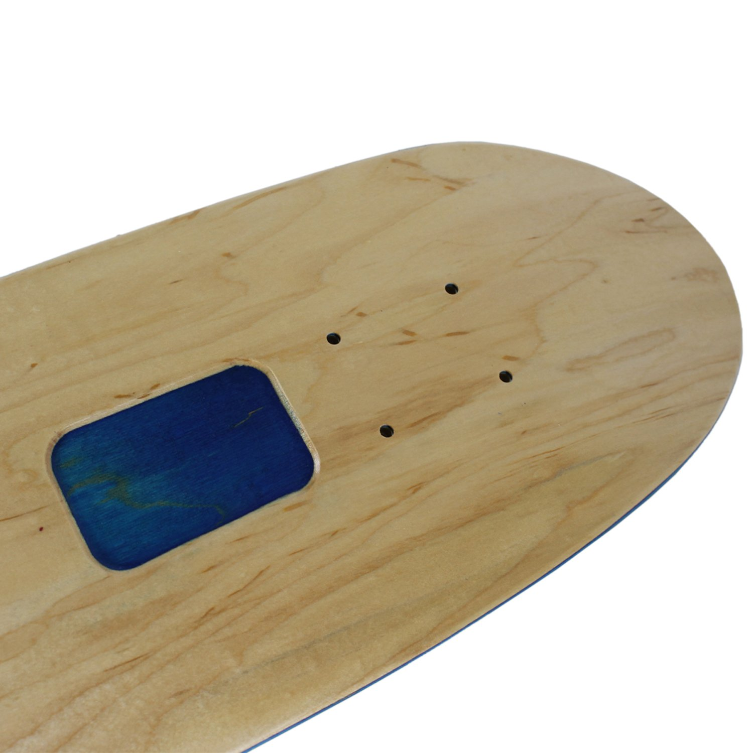 Moose Rolling Tray Skateboard Cruiser Deck Natural//Blue 7.75 x 30