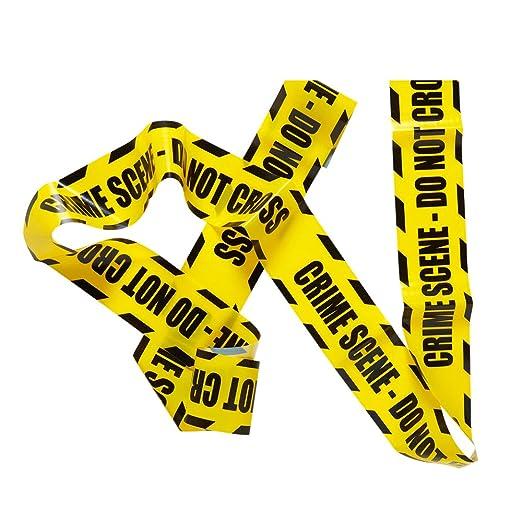 3 opinioni per BARRICADE TAPE- CRIME SCENE DO NOT CROSS 7.20m
