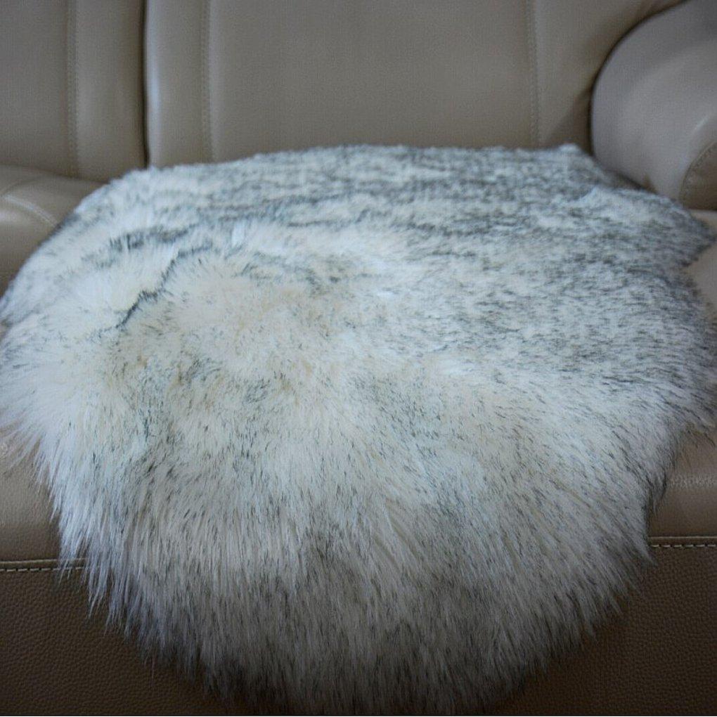 Faux Sheepskin Area Rug Classic Rectangle Sheepskin Area Rug Plush Premium Shag Faux Fur Shag Runner