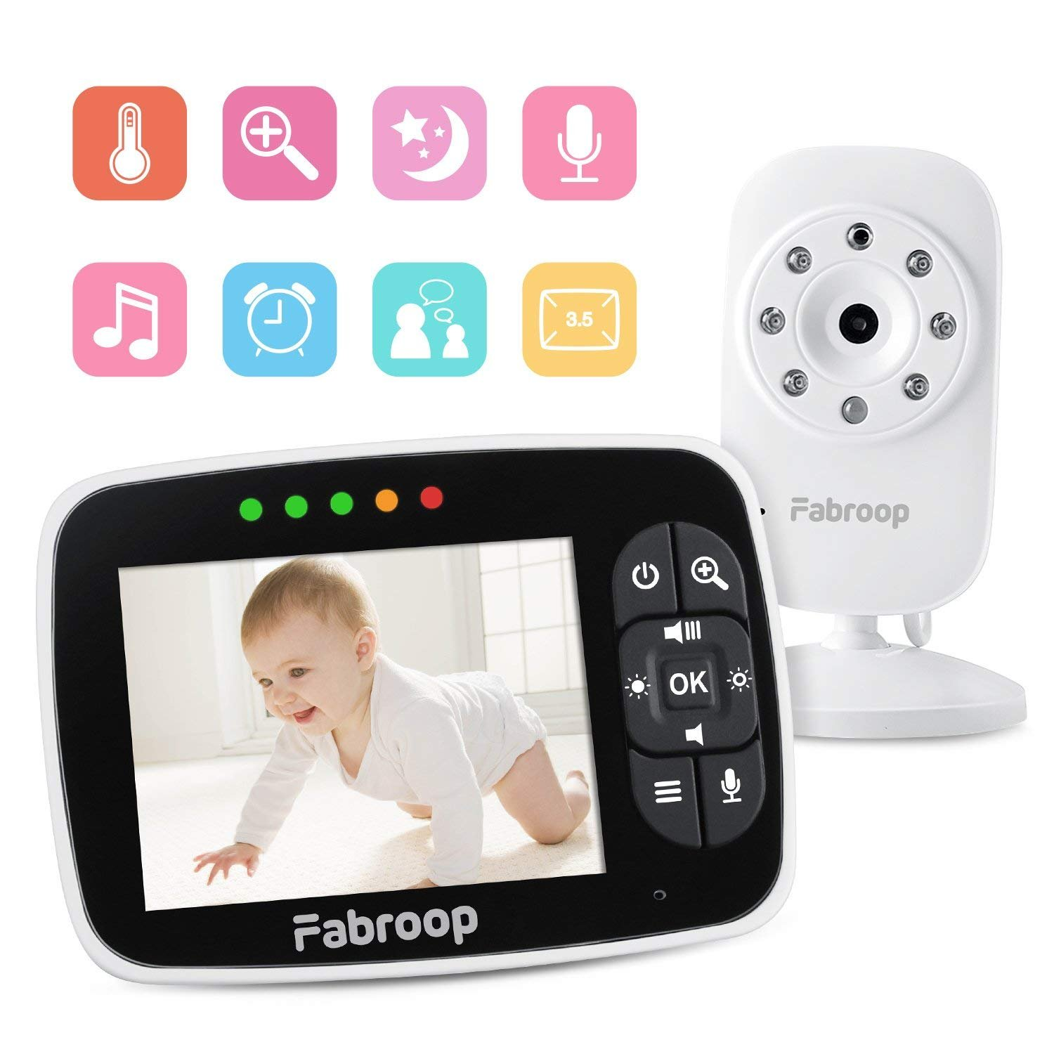 Graco Secure Coverage Baby Monitor