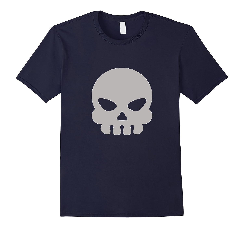 Skull - Emoji T-shirt Crossbones Head Bones-CL