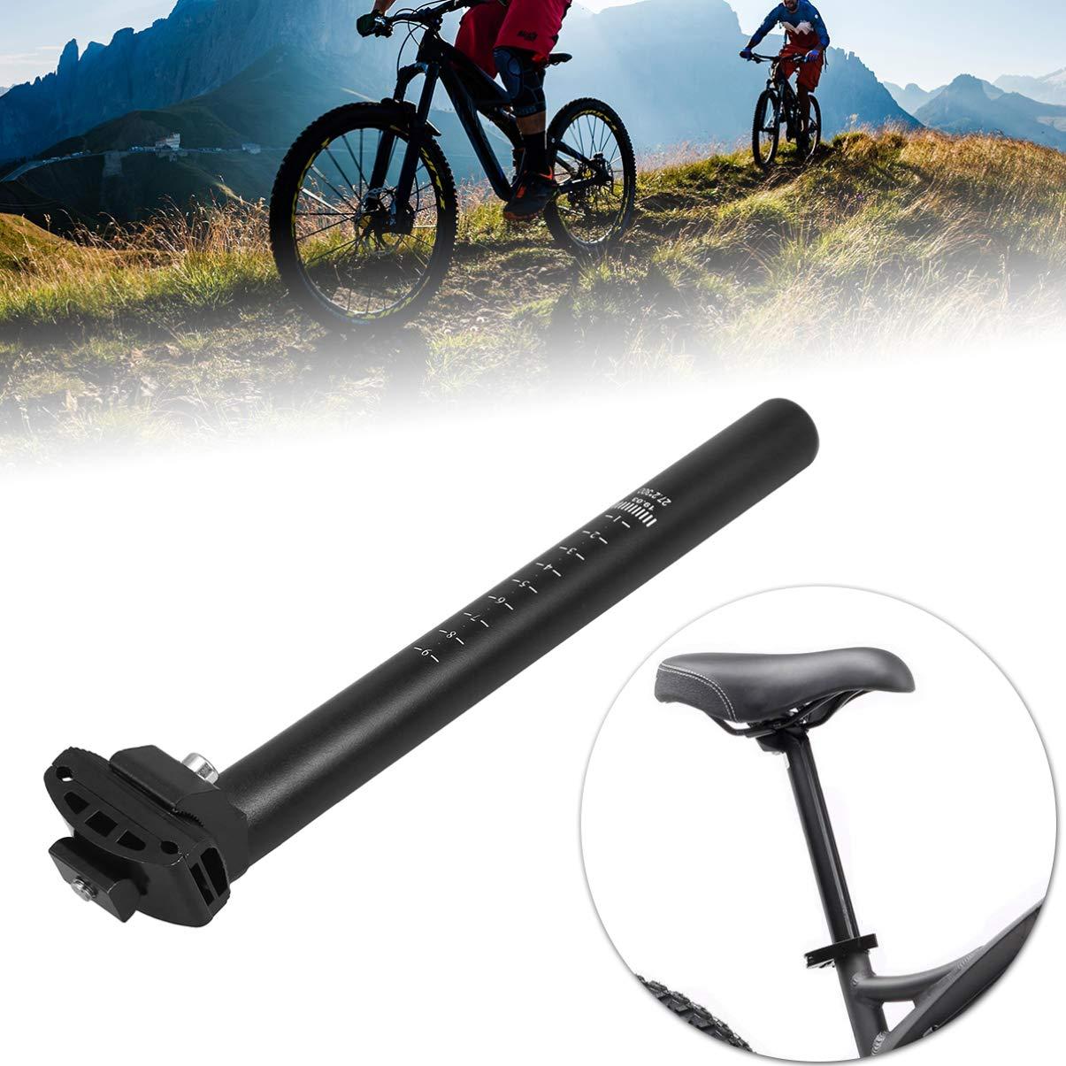 Iron Mountain Road Bike Seatpost Bicycle Extender Seat Post Tube 27.2mm Black