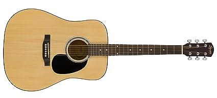 Squier de Fender SA-150 principiante Dreadnought Guitarra Acústica