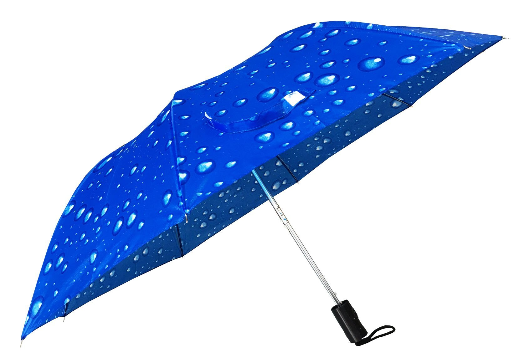 Automatic Folding compact umbrella (blue)