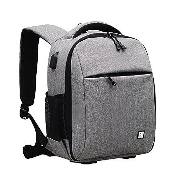 SYAODU Backpacks Mochilas para Cámaras, Mochilas Impermeables para Cámaras Mochilas DSLR Trípodes para Nikon Canon