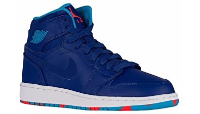 air jordan big kid boys 1 mid bg sneakers nz