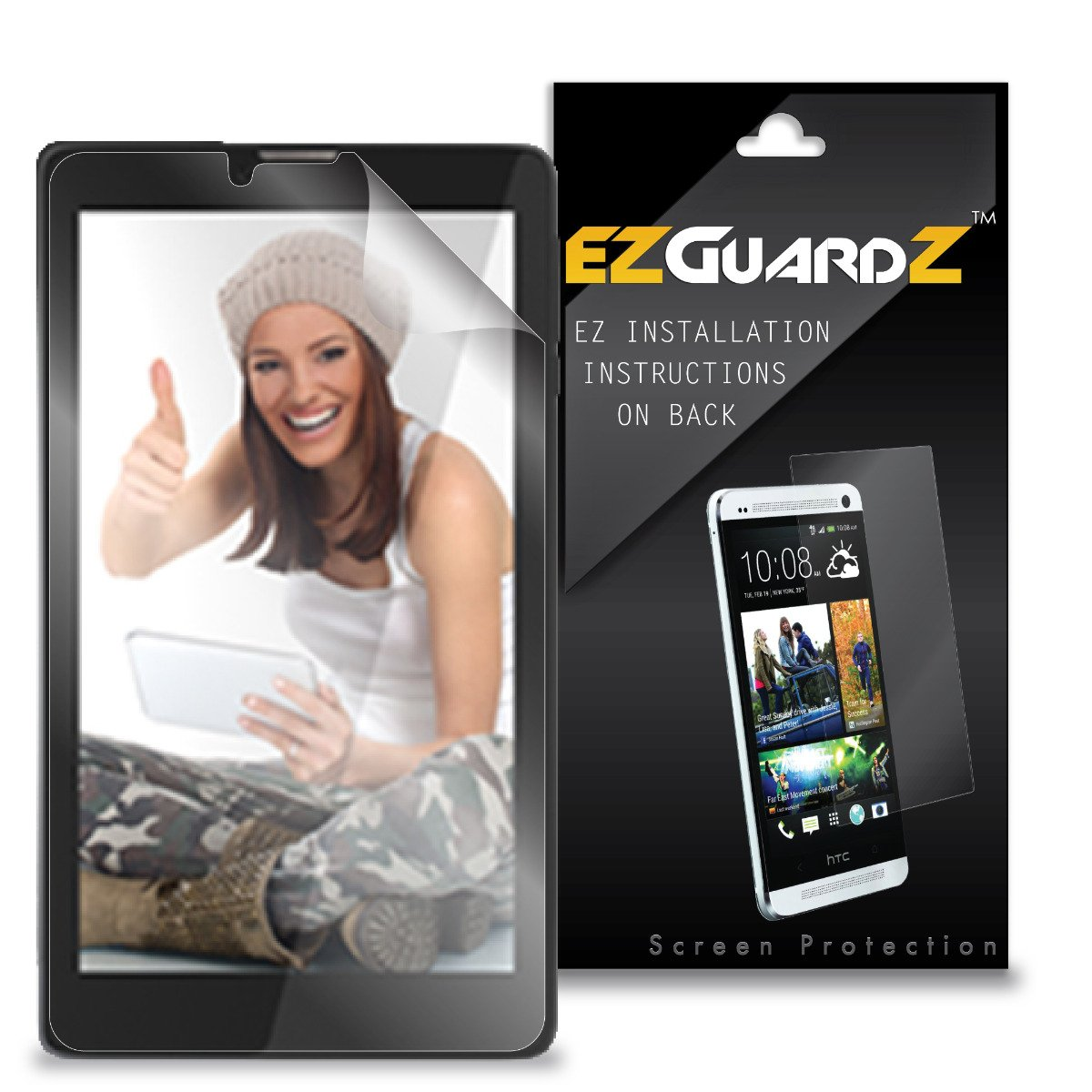 (6-Pack) EZGuardZ Screen Protector for Sky 7.0W (Ultra Clear)