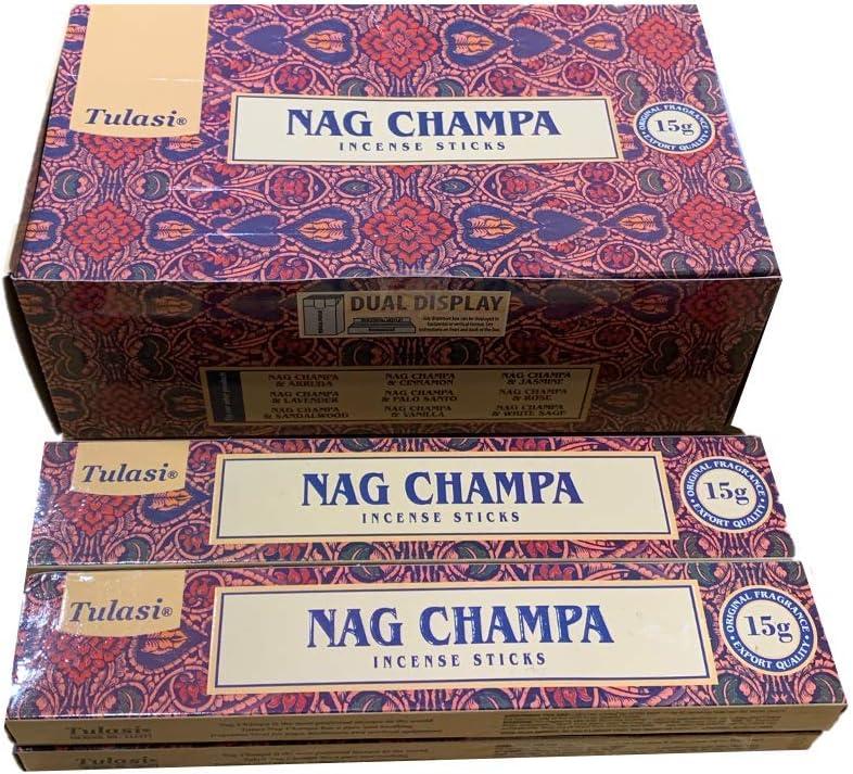 - Nag Champa - 4 Cajas x 15g -