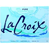 La Croix Sparkling Water Natural, 12 Fl Oz (Pack of 24)