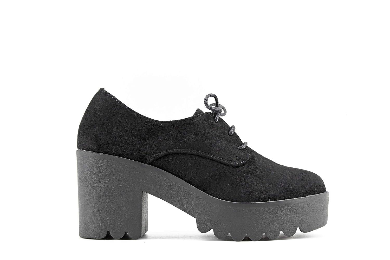 Modelisa - Zapato Blucher Tacón Ancho Mujer