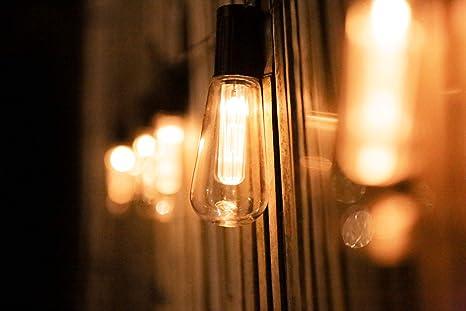 Garden Mile® - 10 bombillas solares para jardín, con estaca, luz blanca cálida y cambia de color para colgar en el jardín, para terraza o valla: Amazon.es: Iluminación